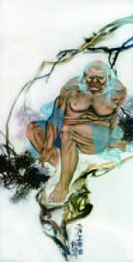 H.H.第三世多杰羌佛作品- 大力王尊者