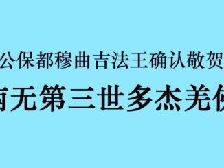 国际佛教僧尼总会严正声明20210208